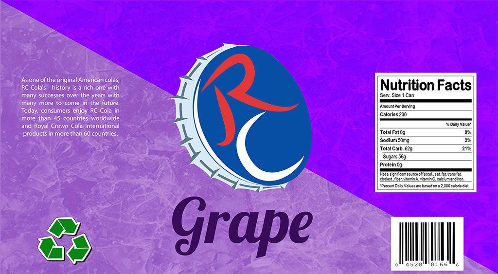 RC Cola Rebrand -